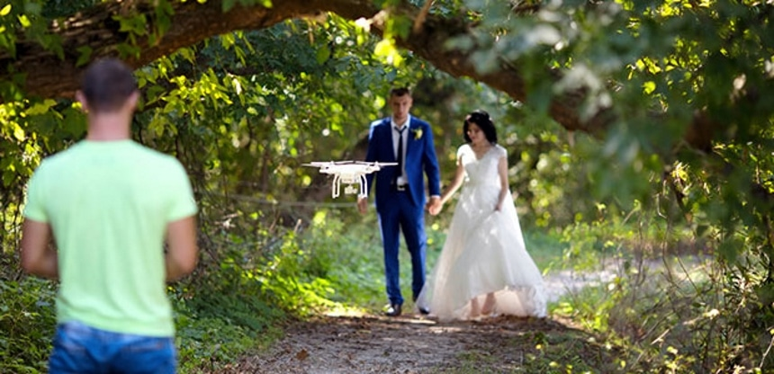 5 Best Drones for Wedding Photography — Capture the Happiest Day of Your Life from Every Angle!