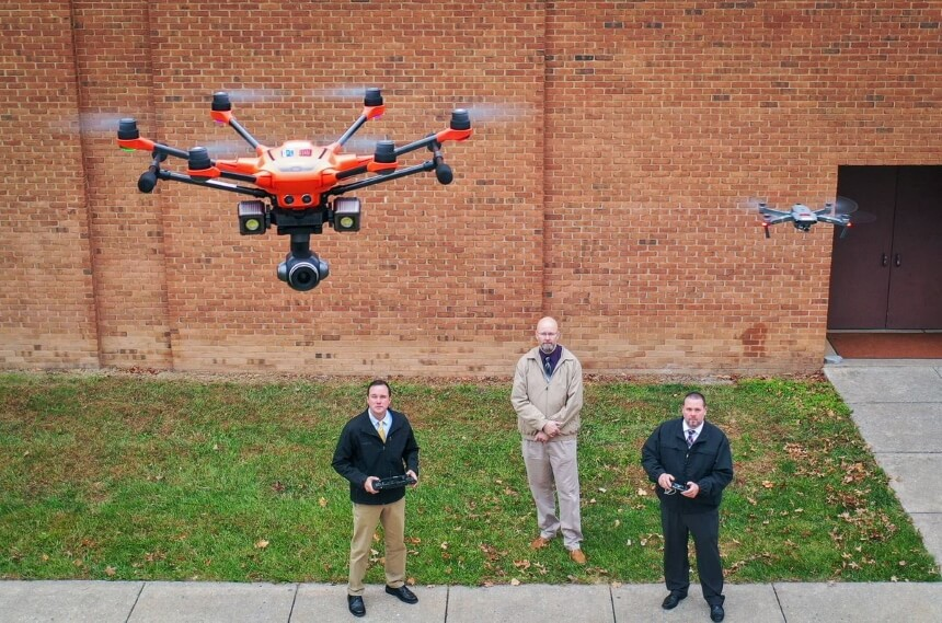 How to Spot a Drone at Night with the Help of Your Senses and New Technologies